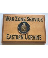 Central Intelligence Agency War Zone Service Eastern Ukraine Beveled Edg... - $49.49