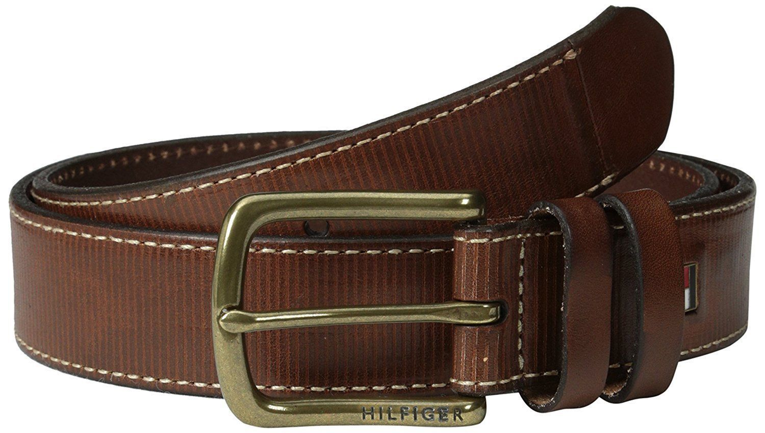 Tommy Hilfiger Men's Textured Casual Belt and 50 similar items