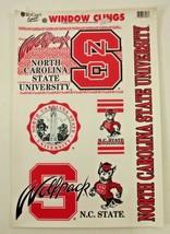 "NCAA North Carolina NC State Automotive Car Decal Sheet 11""x17"" WinCraft  - $10.84"