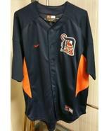 Detroit Tigers Navy Blue Baseball Jersey Nike Team MLB Men's XL No Playe... - $59.39