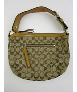 Coach Beige, Brown & Tan Purse Great Condition - $30.00