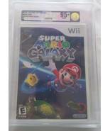 Super Mario Galaxy (Nintendo Wii) NEW FACTORY SEALED VGA 95+ VGA GOLD - $445.50