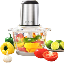 Electric Food Processor & Vegetable Chopper, Elechomes High Capacity 8-Cup - $42.49