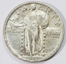 1919 STANDING LIBERTY QUARTER COIN Lot # MZ 4844