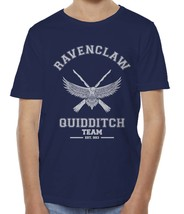 PLAIN Old Ravenclaw Quidditch team No Position Wink Kid / Youth Tee T-shirt Navy - $20.50