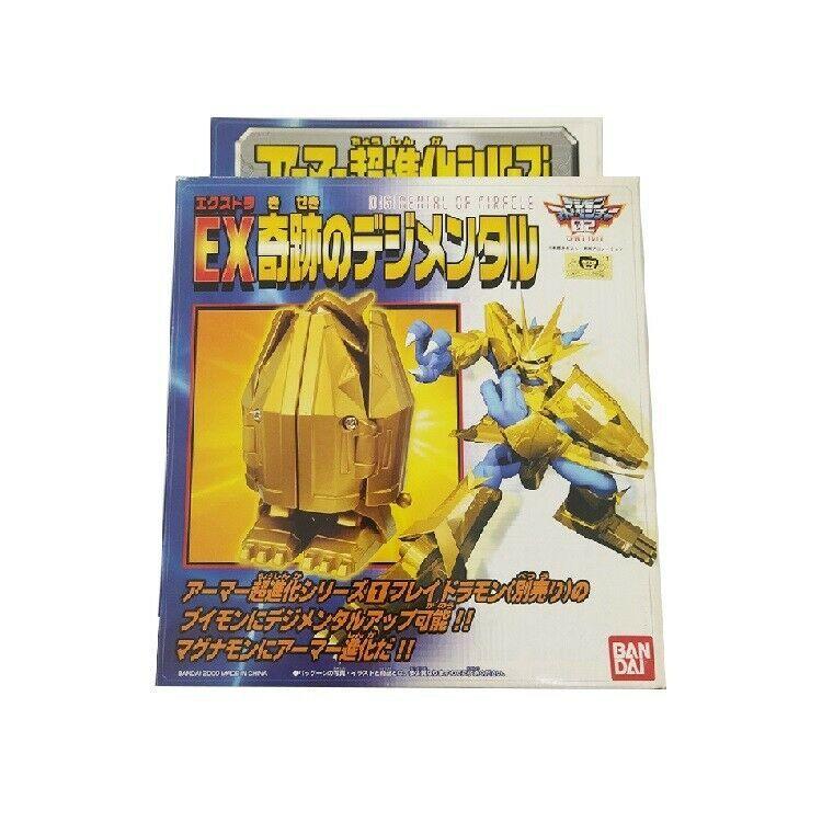 Bandai Digimon Digimental of Miracles Magnamon Digi-Egg Armor Digivolving Figure - $199.98