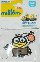Minions Movie Minion Bob as a Hobo Rubber Keychain, LICENSED NEW UNUSED - $7.33