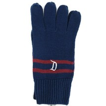 Disneyland Resort Knit Gloves Navy Blue Adult One Size Disney New with Tags - $18.95