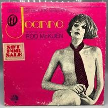 Clásico Joanna Banda Sonora Rod Mckuen Record Álbum Vinilo LP - £22.70 GBP