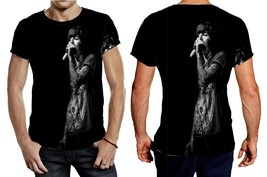 Bring Me The Horizon full black background Tee Men - $21.80