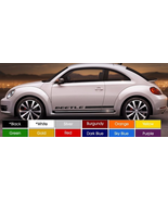 "VW Beetle Running Board Decals Pair (2) 3.5"" x 61"" Choose Color ! Buy No... - $24.98"