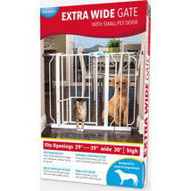 Carlson Pet Extra Wide Walk-through Gate With Door 891618001356 - $67.01