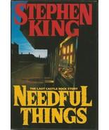 VINTAGE 1991 Stephen King Needful Things Hardcover Book - $49.49