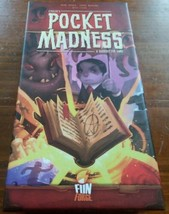 Pocket Madness Card Game - NEW Sealed FunForge Games - Cthulhu Mythos Fa... - $8.42