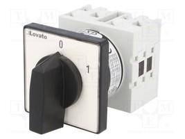 GX1652U Switch cam switch 3-position 16A 1-0-2 Poles no2-25-55°C