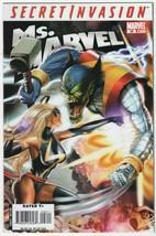 Ms. Marvel #28 NM 2008 Comics Secret Invasion Tie-In Horn Ms Movie Reed ... - $3.95