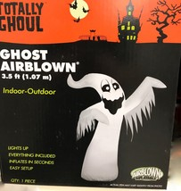 Totally Ghoul Airblown- Ghost Inflatable Friendly Halloween Yard Decor 3... - $39.37