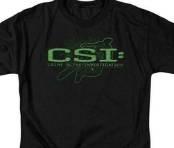 CSI Sketchy shadow t-shirt forensic scientists TV series graphic tee CBS370 image 2