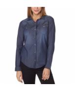Calvin Klein Jeans Ladies' Denim Shirt, Rinse, Size Small - $13.85