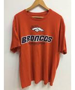 Vintage Denver Broncos NFL Football Shirt Team Apparel Big Logo Sportwar... - $40.00
