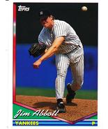 1994 Topps Jim Abbott - $2.50
