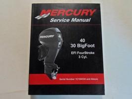 2010 Mercury 30 40 Bigfoot Efi Viertakt 3 Cyl Service Reparatur Manuell ... - $49.45