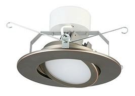 Lithonia Lighting 6G1ORB LED 3000K 90CRI M6 Dimmable 6-Inch LED Retrofit Gimbal, - $47.68