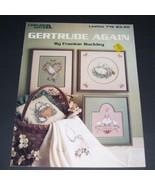 1 Vintage 1989 Leisure Arts Leaflet #719 Gertrude Again Frankie Buckley  - $6.99