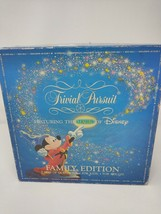 Trivial Pursuit Magic of Disney Family Edition Kids & Adults 1986 Used C... - $18.50