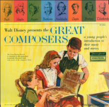Walt Disney Prsents The Great Composers vinyl LP - $9.34