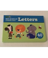 Flash Cards Kids Write On Wipe Off Learning Cards Write Letters Alphabet... - $9.99