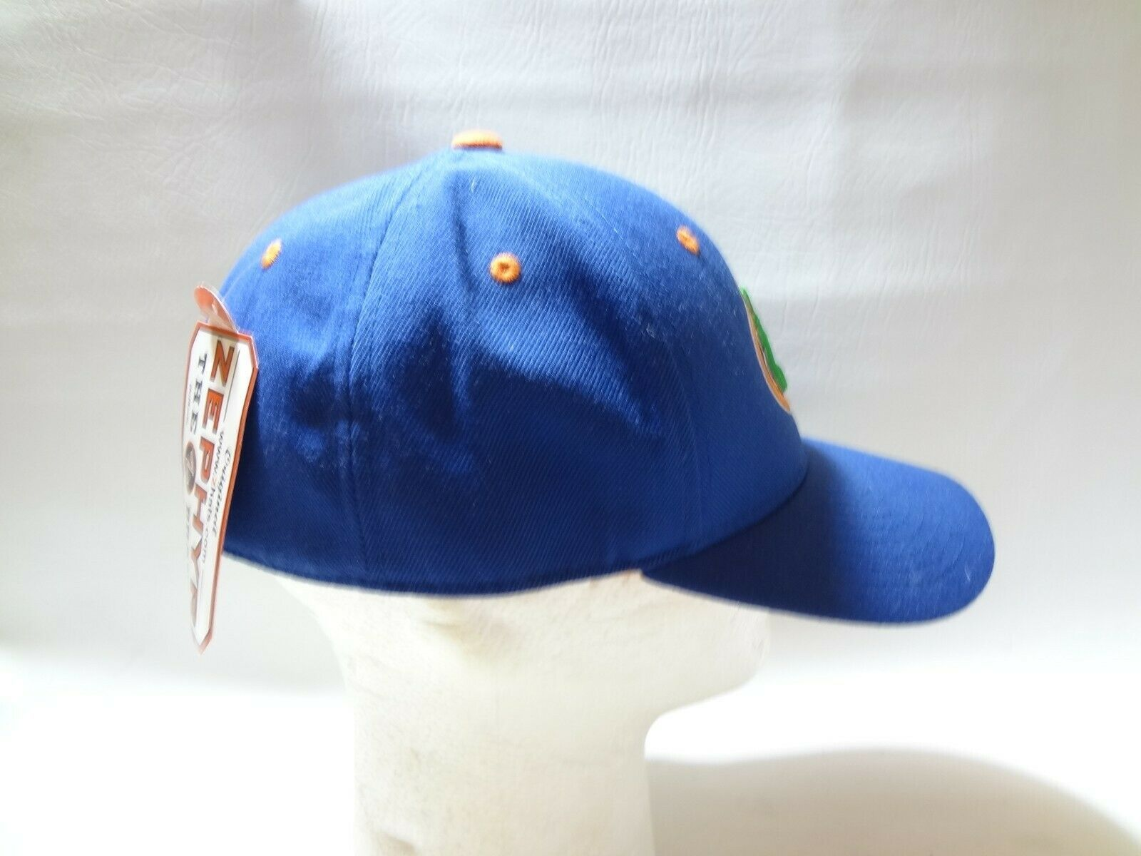 New University Of Florida UF Zephyr Fitted Cap Hat 7 1/2 Z brand College  image 8