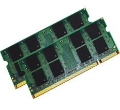 4GB (2X2GB) MEMORY 256X64 PC2-5300 667MHZ 1.8V DDR2 200 PIN SO DIMM