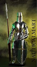 NAUTICALMART Authentic Knight Suit Of Armour Lance Shield by - $699.00