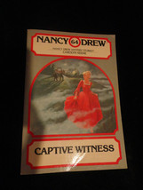 Captive Witness No. 64 by Carolyn Keene (1981, Paperback) - $4.50