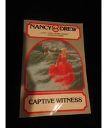 Captive Witness No. 64 by Carolyn Keene (1981, Paperback) - $4.50