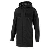PUMA - Mens Pace Lab Hood Jacket, Size: Large, Color: Puma Black  - $149.99