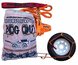 Vehicle Recovery Kit with Strap. Twin Pack by BOG Out. 4x4 Recovery Gear for Off