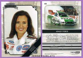 Ashley Force Hood 2009 Press Pass Legends NHRA Racing Card #45 - $12.00