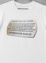 Armour Of God T-Shirt | Christian Apparel | Christian T Shirt | Ships Free image 3