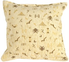 Pillow Decor - Tribal Yellow Pillow - $39.95