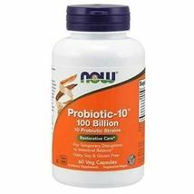 NOW Supplements, Probiotic-10 100 Billion with 10 Probiotic Strains, 60 Veg C... - $55.65