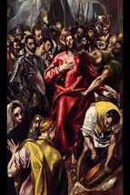 Disrobing of Christ by El Greco - Art Print - $19.99+