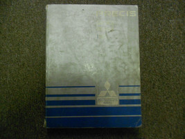1987 Mitsubishi Precis Service Repair Shop Manual Factory Oem Book 87 Dealership - $19.76