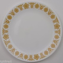 Corning Corelle Butterfly Gold Pattern Dinner Plate Vintage White Glassw... - $7.49