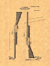 Browning Recoil-operated Firearm Patent Print - $7.95+
