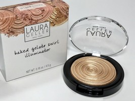 "Laura Geller Baked Gelato Swirl Illuminator ""Gilded Honey"" Full Size New In Box - $11.75"
