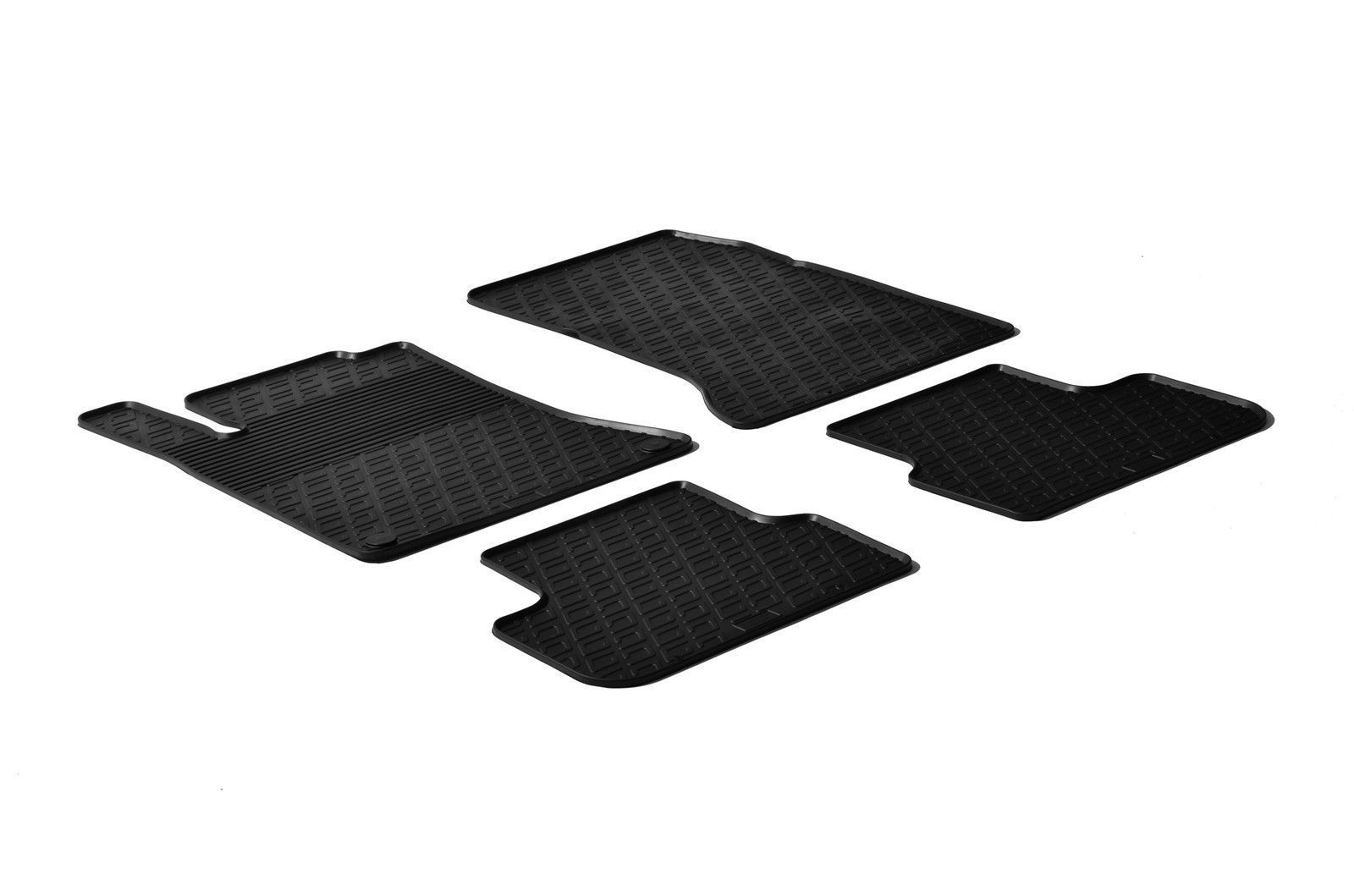 Primary image for All Weather Rubber Floor Mats {fits 2012-18 Mercedes B CLA GLA Class} 4 Pc Black