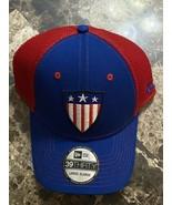 Marvel's Captain America New Era 39Thirty Vintage Shield Logo L/XL Fitte... - $29.69