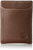 Timberland Men's Premium Genuine Leather Money Clip Credit Card Id Wallet image 6